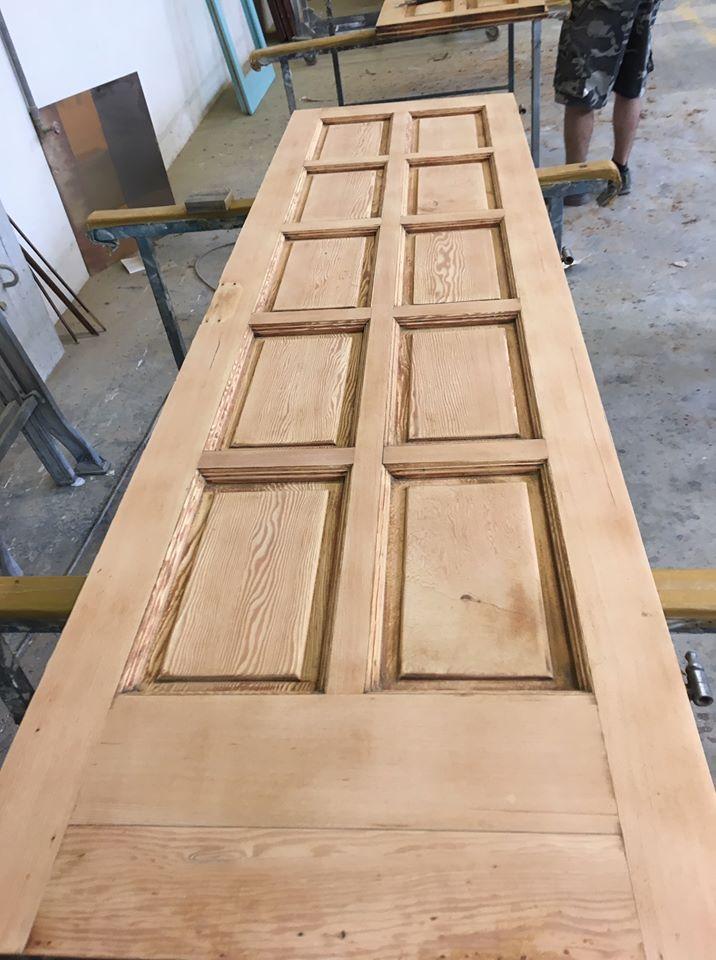 Riportare il legno a grezzo